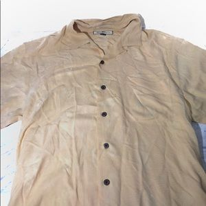 Tommy Bahama yellow button down